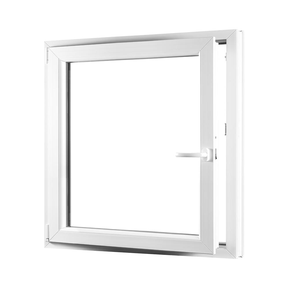 Levně Jednokřídlé plastové okno PREMIUM otvíravo-sklopné levé 950 x 1100 mm barva bílá