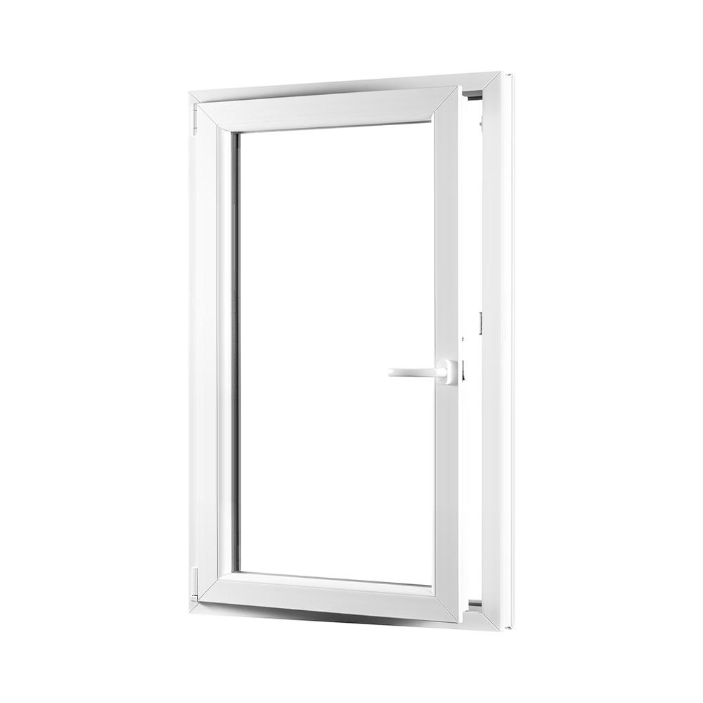 Levně PREMIUM plastové okno 800x1400 mm (80x140 cm) bílé otvíravo-sklopné levé