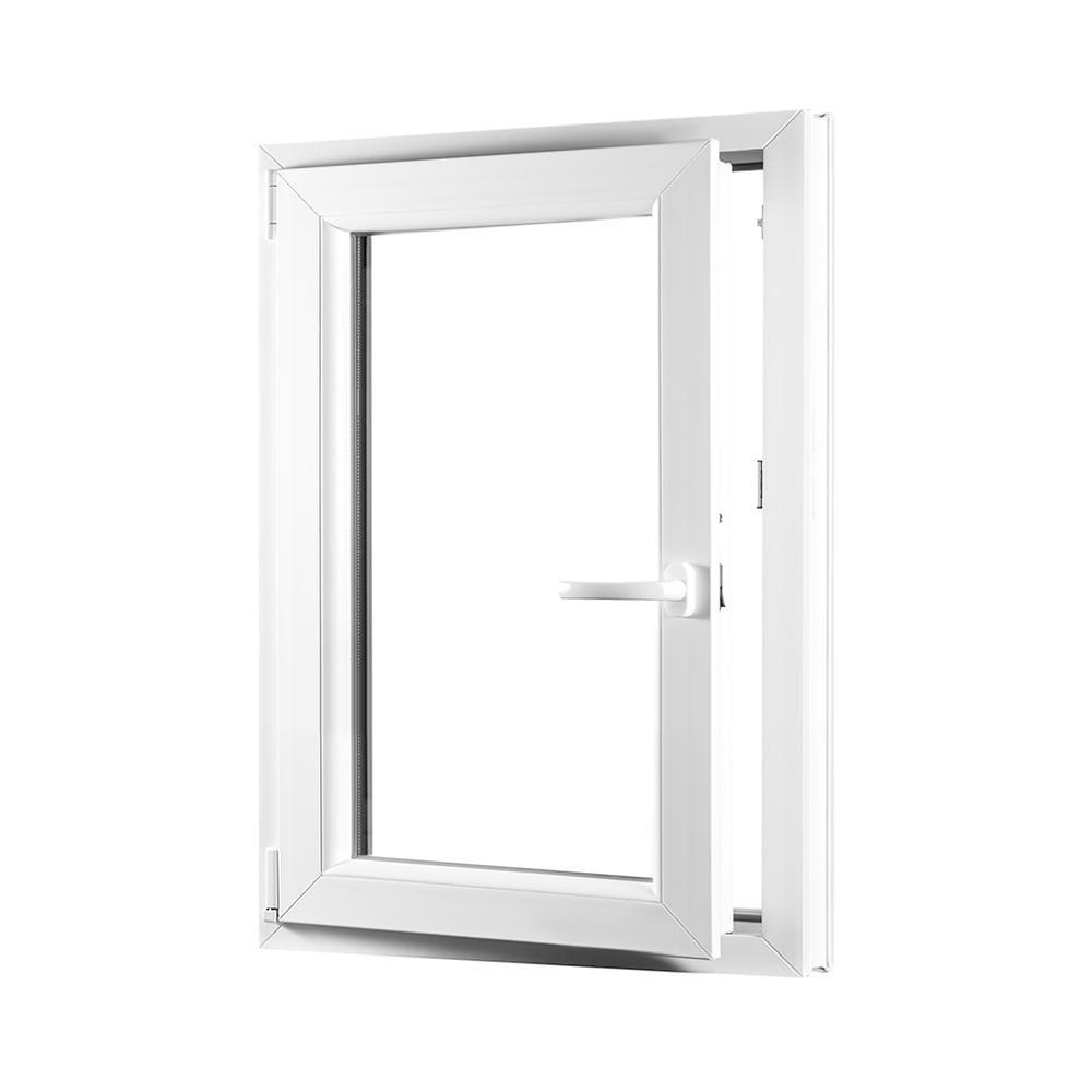 Levně PREMIUM plastové okno 650x1000 mm (65x100 cm) bílé otvíravo-sklopné levé