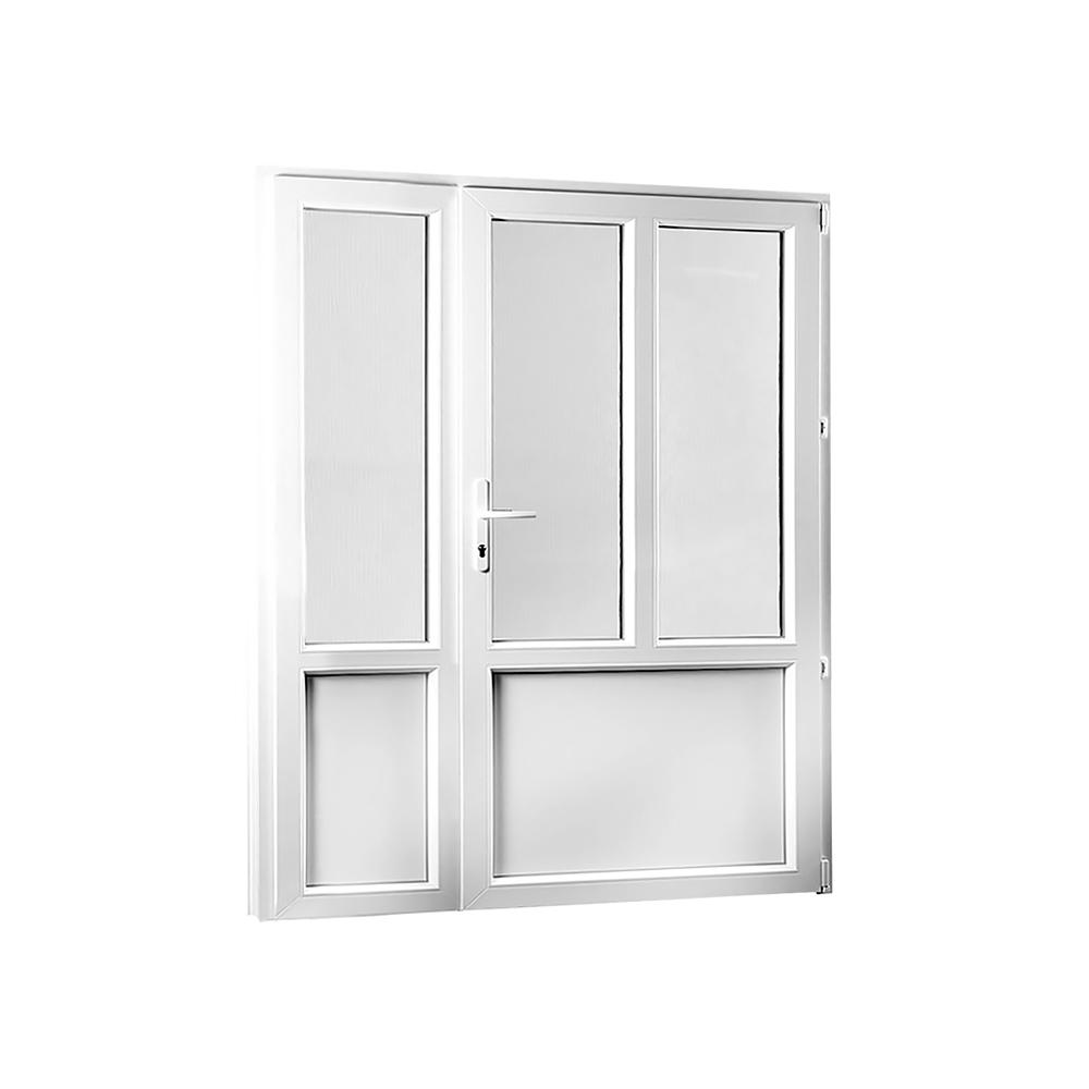 Skladova-okna PREMIUM vchodové dveře 1580x2080 mm (158x208 cm) dvoukřídlé pravé